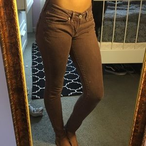 Pants - Dark purple jeans